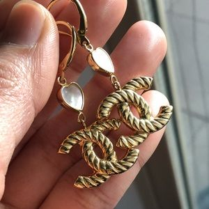 18k Real Gold Earrings